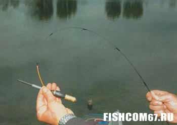 Ловля белого амура на поплавочную удочку видео