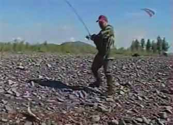 Ловля тайменя видео