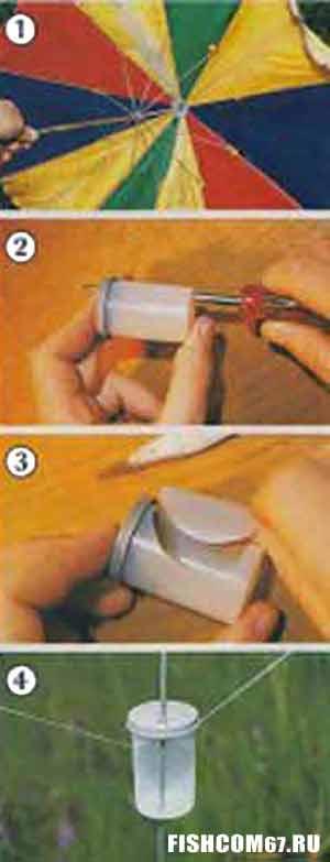 Сигнализатора поклевки из коробочки из под фотопленки