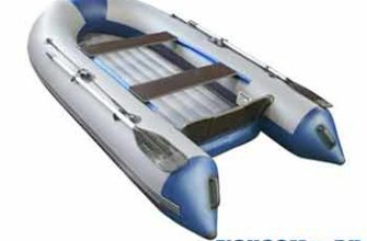 Лодка для рыбалки из ПВХ материалов
