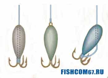 Безмотыльные мормышки для зимней рыбалки