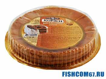 Бисквитные коржи для рыбалки