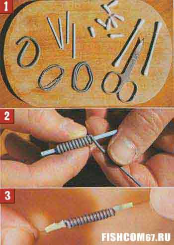 Изготовление скользящего грузила своими руками