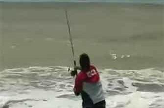 Рыбалка на море видео