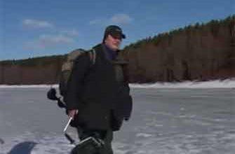 Видео зимняя рыбалка на мормышку