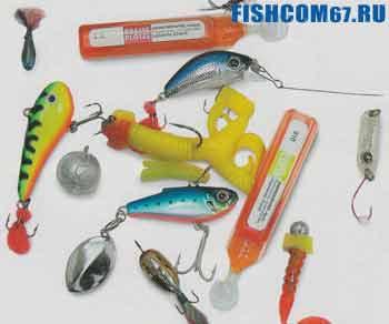 Аттрактанты для привлечения рыбы в зимнее время
