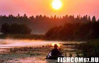 Рыбалка в августе с лодки