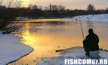 Рыбалка в декабре на реке