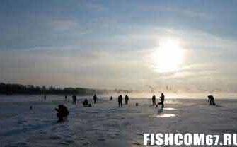 Рыбалка в феврале на водоеме