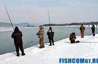 Рыбалка ранней весной на реке