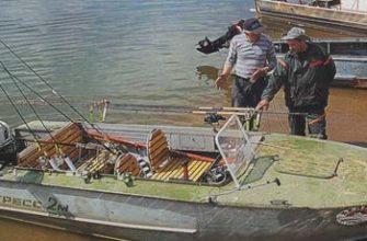 Рыболовный катер тюнингованный