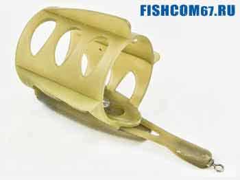 Пластиковая кормушка для рыбалки на фидер