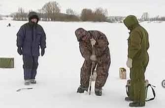 Ловля карпа зимой видео