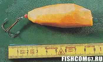 Воблер из моркови
