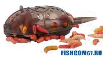 Закрытая фидерная кормушка для личинок