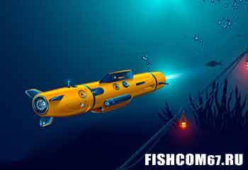 Подводный дрон для рыбалки