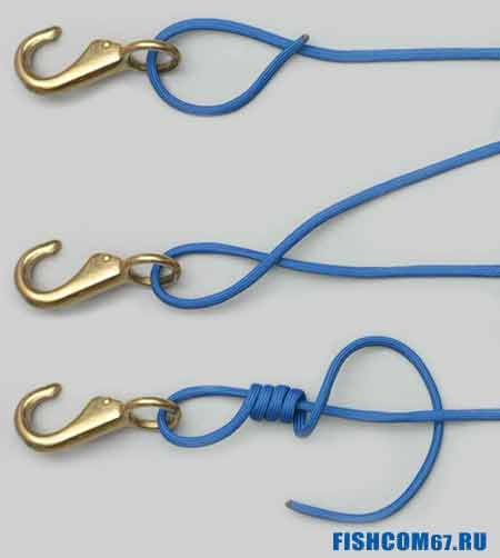 Узел Improved Clinch Knot